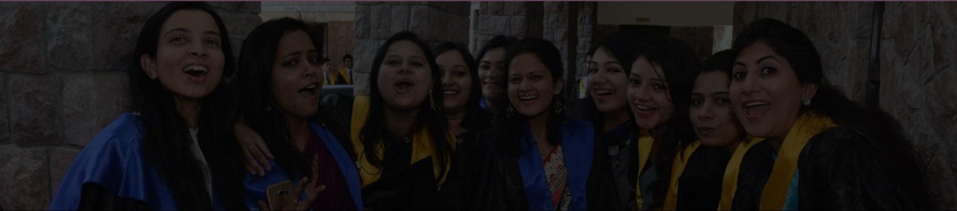 Group photo of IIHMR students