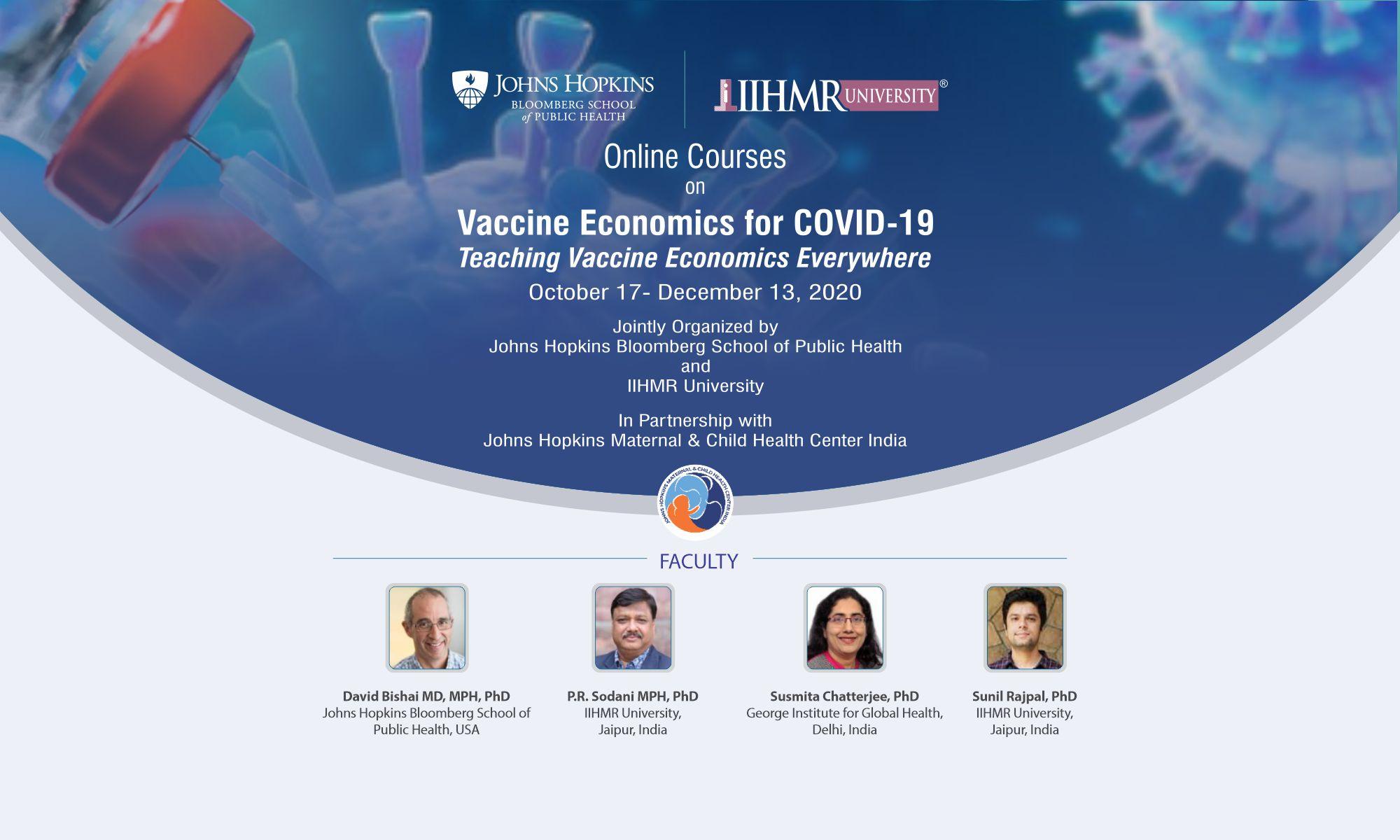 Vaccine Economics for COVID-19
