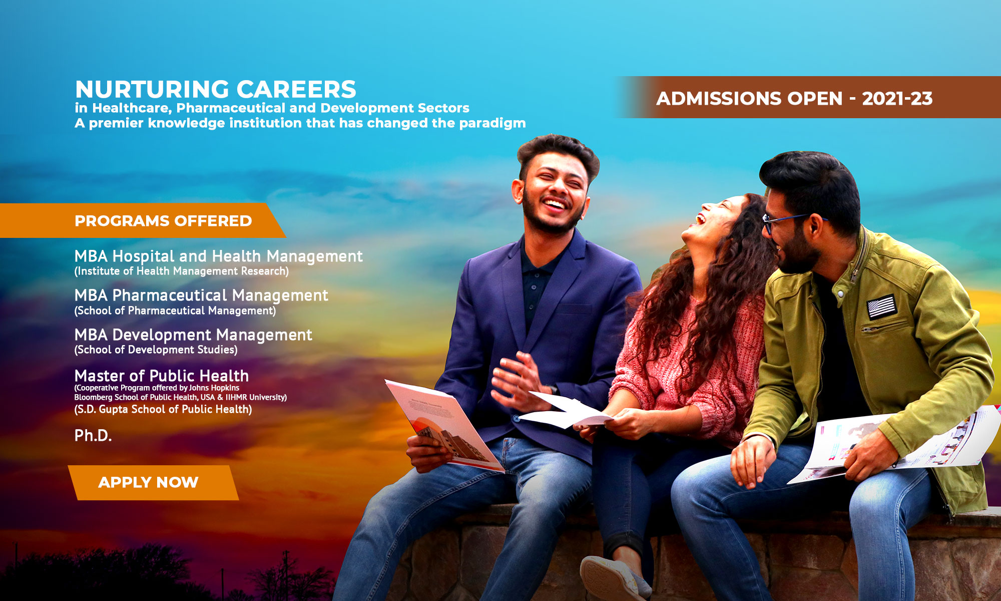 Admission open 2021-2023