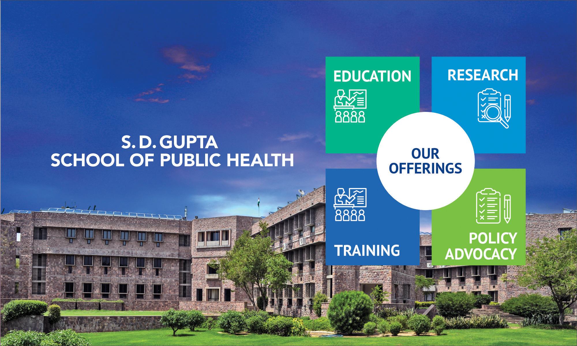 School of Public Health will start IIHMR University