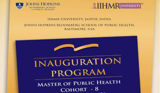 E-inauguration ceremony of the 8th Cohort of the MPH