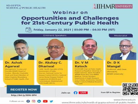 Opportunities and Challenges for 21st-Century Public Health
