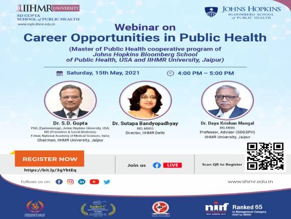 Career Opportunities in Public Health